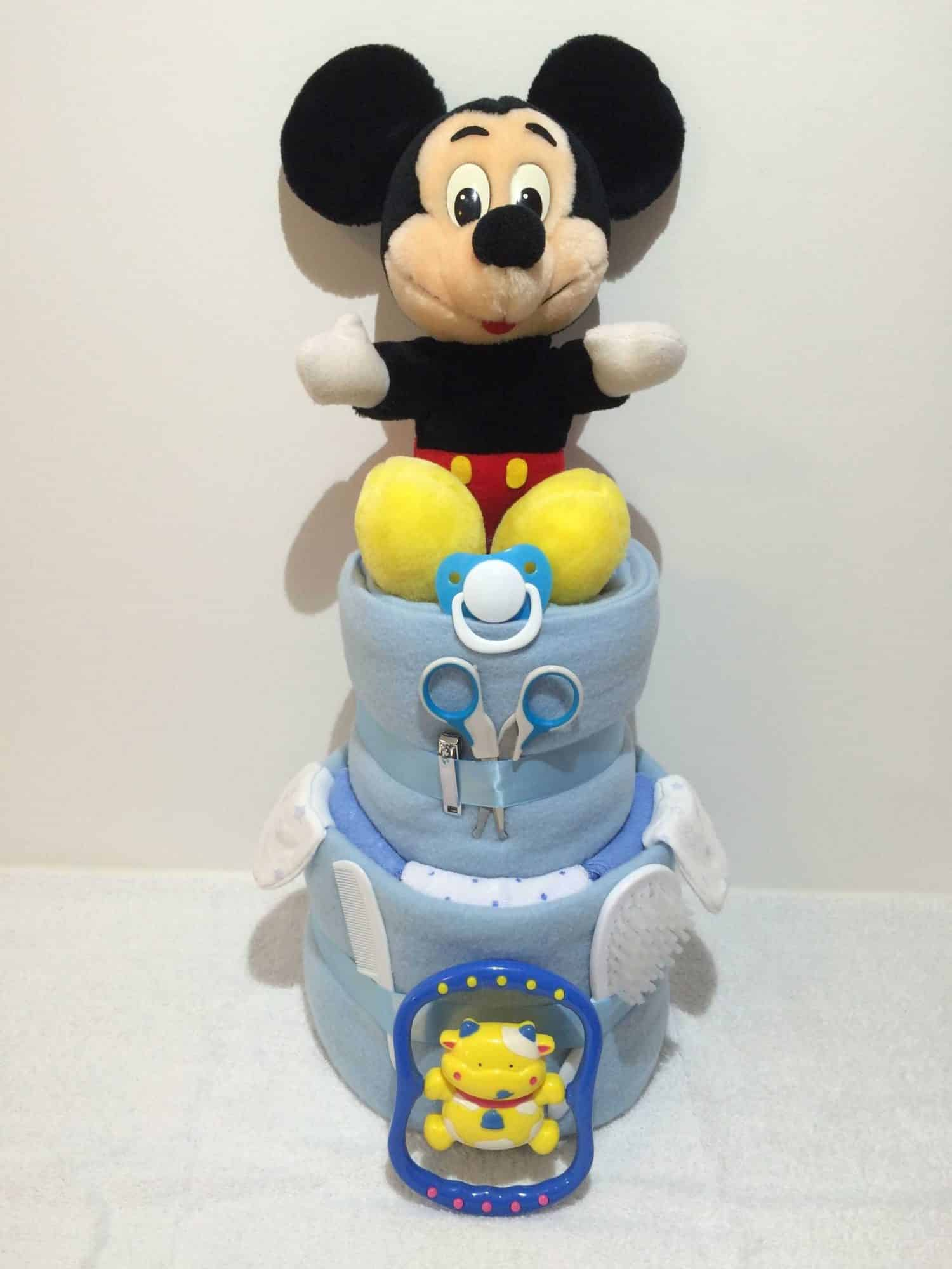 How To Make A Mickey Mouse Cake From Scratch