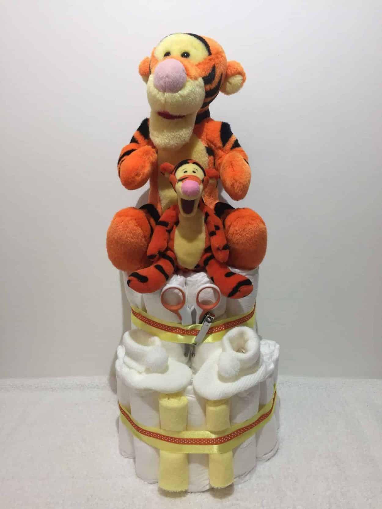 Tigger Nappy Cake